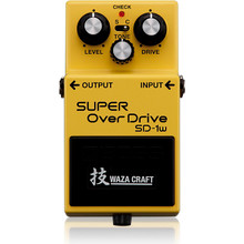 Boss Super Overdrive SD1 Waza Craft Guitar Effects Pedal