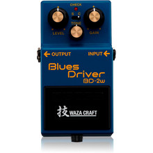 Boss Blues Driver Waza Craft Guitar Effects Pedal