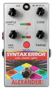 Alexander Syntax Error Guitar Pedal