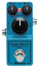 Ibanez Mini Super Metal Distortion Guitar Pedal