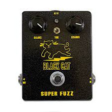 Black Cat Super Fuzz guitar pedal