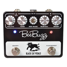 Black Cat Bee Buzz Fuzz guitar pedal