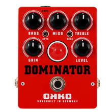 OKKO MK II Red Dominator Distortion Pedal