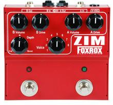 Foxrox ZIM fuzz overdrive guitar pedal