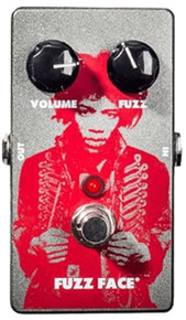 Jim Dunlop Fuzz Face Distortion Guitar Pedal