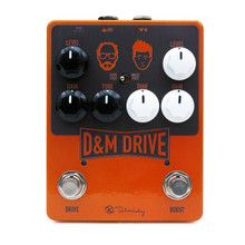 Keeley D&M Drive Overdrive and Boost Guitar Pedal