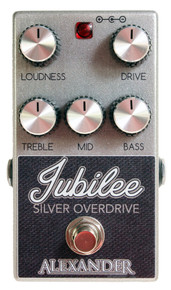 Alexander Jubilee Silver Overdrive Overdrive Guitar Pedal
