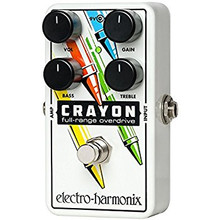 Electro Harmonix Crayon Overdrive Guitar Pedal