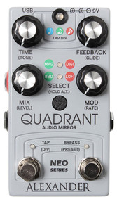 Alexander Quadrant Delay Guitar Effect Pedal