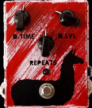 JAM  Delay Llama  guitar pedal