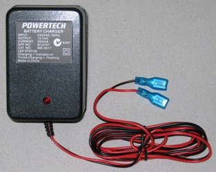 Battery Charger for the Mirage Sea Kayaks Bilge Pump