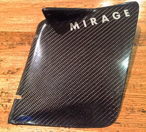 Mirage 100% Carbon Flush Rudder