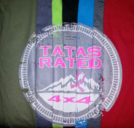 TATAs Rated T-Shirt Antique Cherry Red