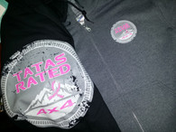TATAs Rated Black Zip Hoodie