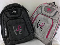 OGIO LOVE Raceday Silver Backpacks