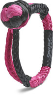 Pink and Black Gator-Jaw® Synthetic Shackle