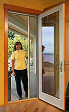 Retractable Screen Kit For Single Door