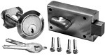 Stamped Deadbolt Cylinder Set