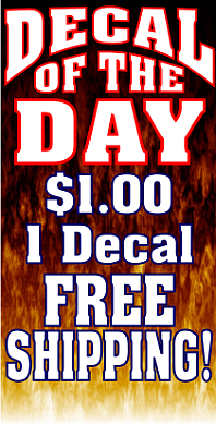 decal of the day 1 dollar