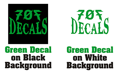 What is a vinyl cut decal