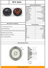 """Neo Forte NF6 6.5"""" Premium Neodymium Loudspeaker"""