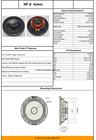 """Neo Forte NF8 8"""" Premium Neodymium Loudspeaker"""