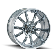 Ridler 650 Wheels Rims Chrome 20x8.5 5x127 0 | 650-2873C