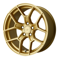 Motegi Racing ® MR133 Wheels Rims Gold 18x8.5 5x4.5 (5x114.3) 25 | MR13388512625