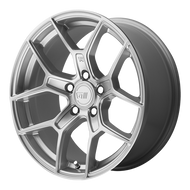 Motegi Racing ® MR133 Wheels Rims Hyper Silver 17x9.5 5x112 45 | MR13379556445