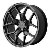 Motegi Racing ® MR133 Wheels Rims Satin Black 17x8.5 5x4.5 (5x114.3) 45 | MR13378512745