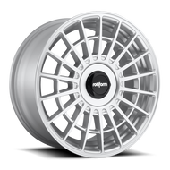 Rotiform ® LAS-R R143 Wheels Rims Gloss Silver 19x10 5x112 5x4.5 (5x114.3) 35 | R143190007+35