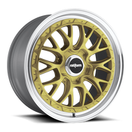 Rotiform ® LSR R156 Wheels Rims Painted Gold 19x10 5x112 25 | R156190043+25