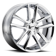 Platinum Gemini 436C Wheels Rims Chrome 17x7.5 4x100 4x108 40 | 436-7701C+40