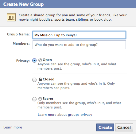 #5: Setup a Facebook Group