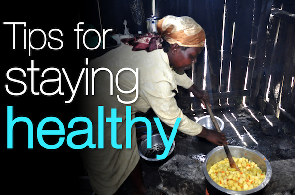7 Quick tips for staying healthy on your mission trip