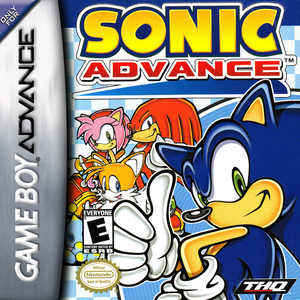*USED* Sonic Advance (#785138320991)