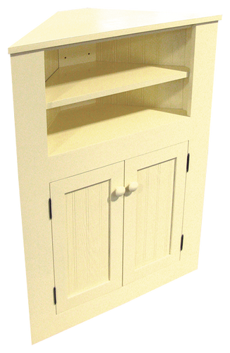 CUSTOM   Small Corner Cabinet