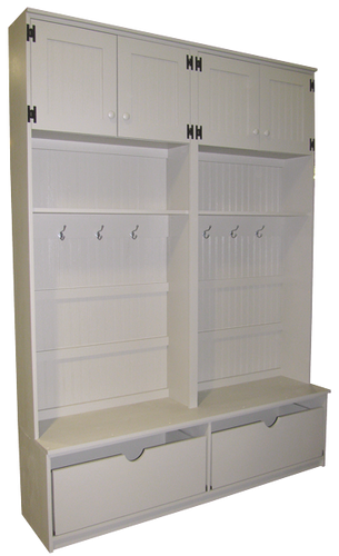Mudroom Storage Drawers : Custom mudroom storage with drawers sawdust city llc