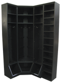 CUSTOM - Inside Corner Locker Setup