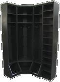 CUSTOM - Inside Corner Locker Setup