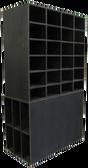 CUSTOM - Large Black Cubby Storage