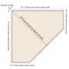 Top-Down diagram showing bottom measurements