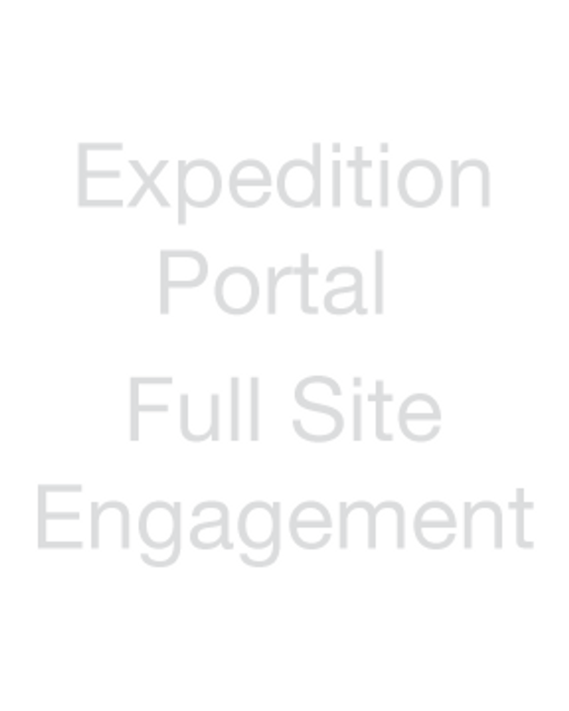 Expedition Portal - Full Site Engagement
