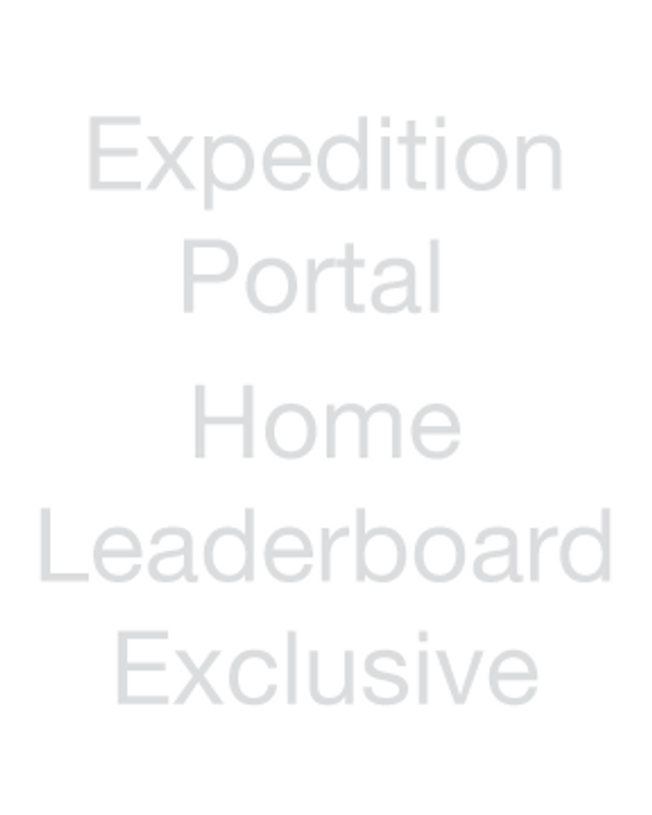 Expedition Portal - Home Leaderboard Exclusive
