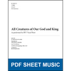 All Creatures of Our God and King (Arr. by Buck Mangum - TTBB) [PDF Sheet Music]