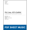 Oh, Come, All Ye Faithful (Arr. by James L. Stevens) [PDF Sheet Music]