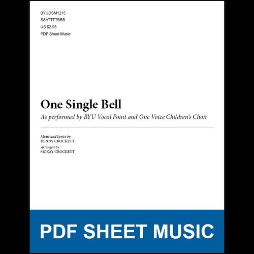 One Single Bell (Arr. by McKay Crockett) [PDF Sheet Music]