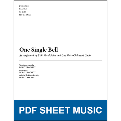 One Single Bell (Piano/Duet) [PDF Sheet Music]