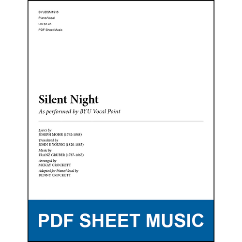 Silent Night (Piano/Vocal) [PDF Sheet Music]