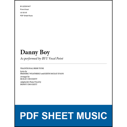 Danny Boy (Piano/Vocal) [PDF Sheet Music]